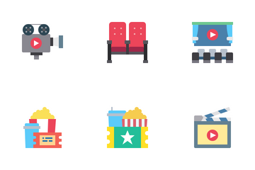 Cinema And Media Icon Pack