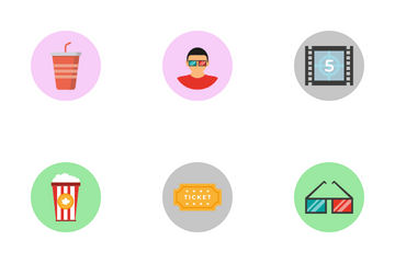 Cinema And Movies Icon Pack