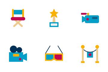 Cinema And Photograph Icon Pack