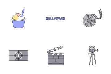Cinema & Film Icon Pack