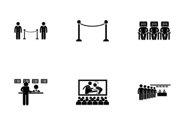 Cinema Scene Icon Pack