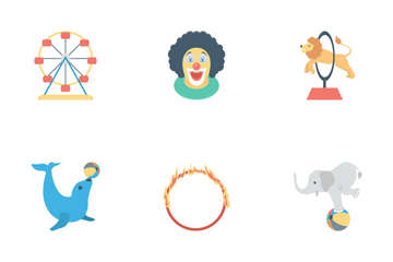 Circus Icon Pack