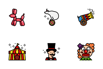 Circus Carnival Icon Pack