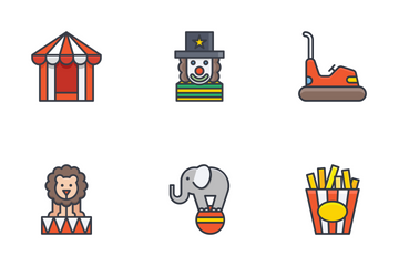 Circus Icons  Icon Pack