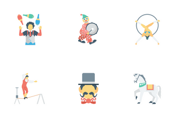 Circus Vol 2 Icon Pack