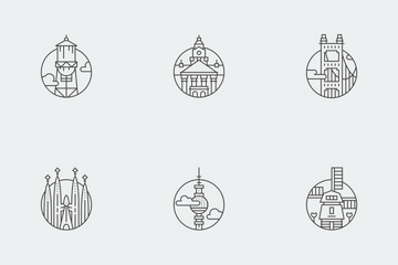 Cities Around The World Icon Pack