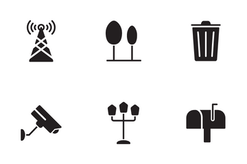 City And Environment Icon Pack