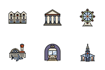 City And Village Icon Pack