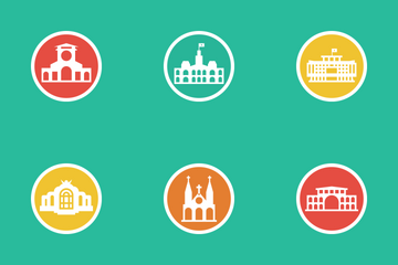 City Attractions Icon Pack