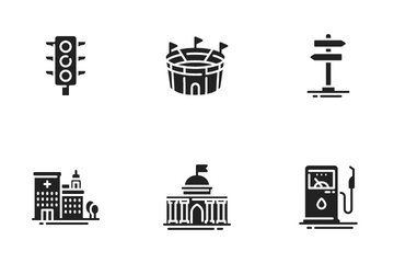 City Elements Icon Pack
