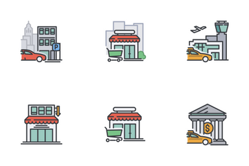 City Life Icon Pack