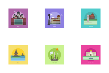 City Of Indonesia Icon Pack