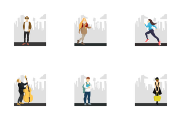 City Sketches Icon Pack