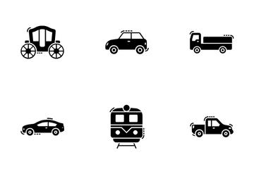 City Transportation Icon Pack