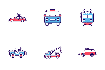 City Transportation Icon Pack