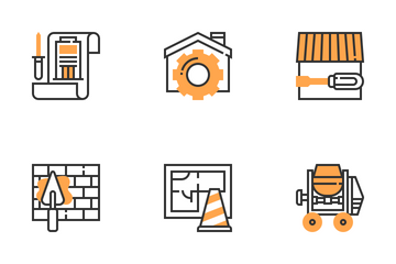 Civil Engineer Icon Pack