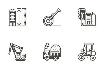 Civil Engineering Icon Pack