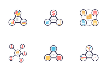Classes Of Information Systems 1 Icon Pack