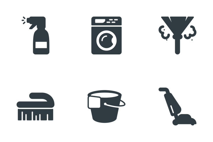 Cleaning And Housekeeping  Icon Pack