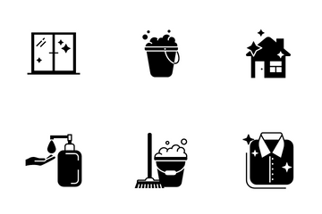 Cleaning Icon Pack