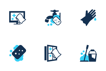 Cleaning Icons Icon Pack