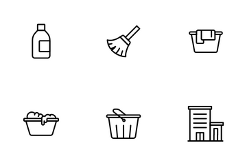 Cleaning Services Icon Pack