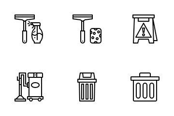 Clening Icon Pack