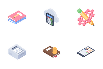 Clients Support Service Icon Pack