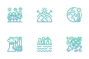 Climate Change Icon Pack
