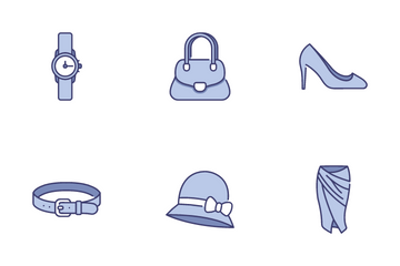 Clothes And Accessories Icon Pack