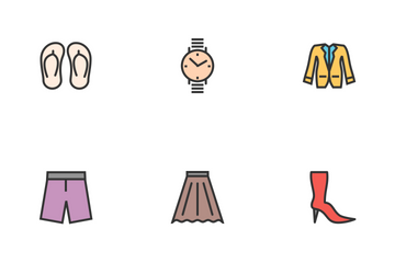 Clothes And Fashion  Icon Pack