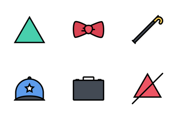 Clothes Colored Icon Pack