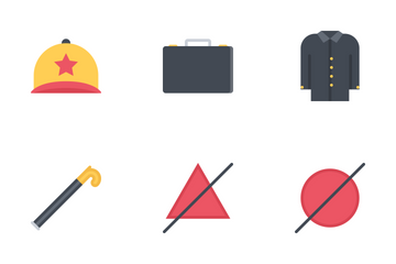 Clothes Flat Icon Pack