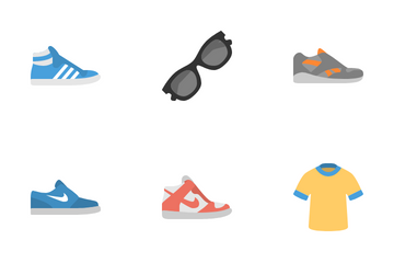 Clothes & Shoes Icon Pack