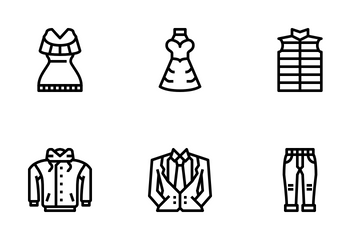 Clothing Icon Pack