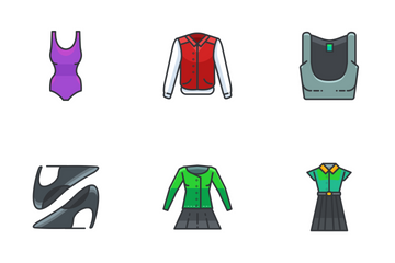 Clothing And Fashion  Icon Pack