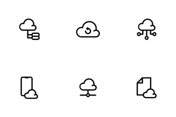 Cloud And Server Icon Pack