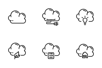 Cloud Collection Icon Pack
