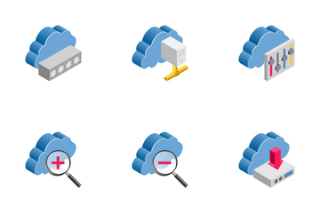 Cloud Computing 1 Icon Pack