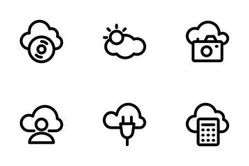 Cloud Computing 2 Icon Pack