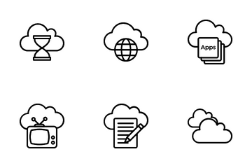 Cloud Computing Icon Pack