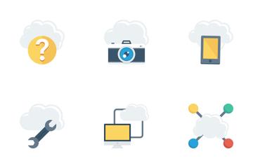 Cloud Computing Vol 2 Icon Pack