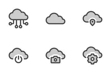 Cloud Connection Icon Pack