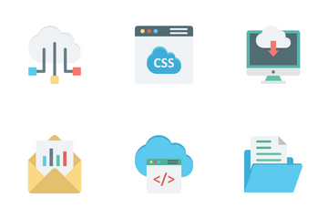 Cloud Data Icon Pack