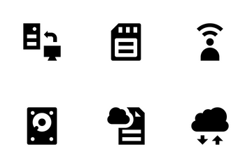 Cloud Data Technology Vol 1 Icon Pack