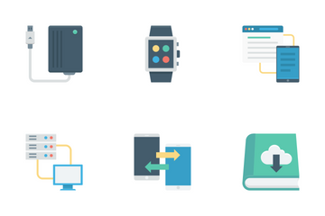 Cloud Data Technology Vol 2 Icon Pack