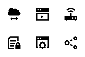 Cloud Data Technology Vol 3 Icon Pack