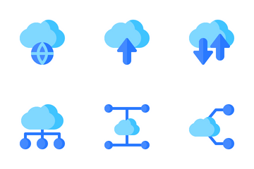 Cloud Networking Icon Pack
