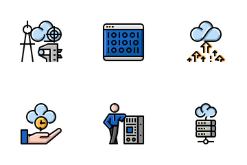 Cloud Service Icon Pack