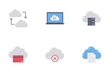 Cloud Service Vol 1 Icon Pack